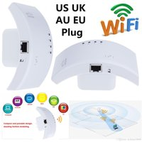 al por mayor repetidor inalámbrico ethernet-Wireless-N Wifi Expander 300Mbps Extensor de alcance inalámbrico / Punto de acceso 802.11N 2.4G Red Ethernet Repetidor Wifi / Booster de señal AP Router