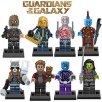 lego like Minifig Chenghai 25pcs lot Guardians of the Galaxy Figures Vol 2 Gamora Rocket Baby Groot Star Lord 76079 76080 76081 X0159 Mini Building Block Figures