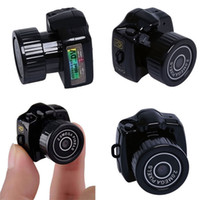 Wholesale Hot Sale Y2000 Mini HD Video Camera Small Mini Pocket DV DVR Camcorder Recorder Spy Hidden Web spy Cameras