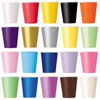 Wholesale Disposable Paper Cup oz Party Candy Bottle Outdoor Camping Picnic Drinkware Vending CateringTumblers Drinking