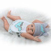 bathing baby boys - 20 Inch Boy Bathing Doll Full Silicone Body Baby Dolls Newborn Vinyl Reborn Doll Fashion Dolls