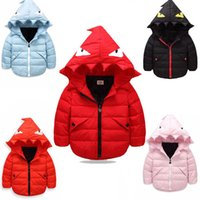 Wholesale new winter warm down jacket children boys and girls children s clothing Little monster thin hooded down jacket