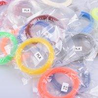 Wholesale 3D Printer Pen filament MM m avirulent and harmless Colors DIY PLA Low temperature eMate printing material