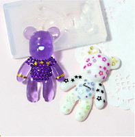 bear jewellery - iolent bear Type DIY Silicone Mould Resin Necklace Craft Jewellery Making Mold