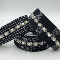 Wholesale silk printing bandana choker for winter