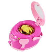 best cooker - Mini Simulation rice cooker toy for kid lovely classic electric furniture toy the best gift for children Pink
