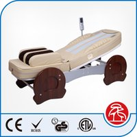 best massage tables - Best Father Mother Gift Healthcare Salon Beauty Airbag Jade Roller Stone Heated Spine Massage Bed Table