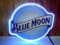 Popular Blue Moon Neon Sign-Buy Cheap Blue Moon Neon Sign lots ...