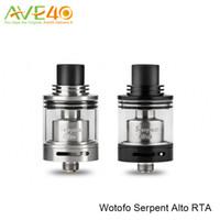 alto tank - Wotofo Serpent Alto RTA Atomizer Single Coil RTA Tank with ml E juice Capacity and SS Pyrex Glass Boby