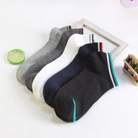 Wholesale 2017 new socks pure color leisure boat spring and summer sports men boat socks