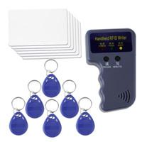 Оптовая Новые RFID 125KHz EM4100 EM410X ID Card Копир Копировальный + 6 Записываемые Тэги + 6 Writable карты