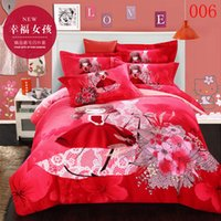 american girl washing machine - Bedclothes Sets Duvet Cover Quilt Cover Flat Bed Sheets Pillowcases Bed Linen Home Bedroom Pc Cartoon Pink Red Girl Cotton Bedding Set