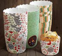 baking bread supplies - European style Baking Cups household Baking bread supplies Eco Friendly Natural wooden paper