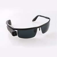 Wholesale WG2 Sunglasses Camera P HD WIFI Sunglasses Mini DV with MP Live Streaming Connect Android OS Mobile Phone