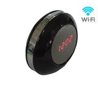 alarm clock windows - Wireless Hidden Camera Clock Indoor Desk Alarm Clock Camcorder Support up to GB Micro SD Card with Mobile Windows APP Remote Control