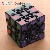 Wholesale New Gear Wheel Magic Cube Educational Puzzle Toy Magic Cube Sides
