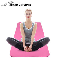 Wholesale Fitness Exercise Sports NBR Yoga Mat Pilate Pad Non slip with Carry Bag Strap