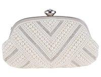 bead bag suppliers - Sweet Lady Girl Bag Wedding Bridal Clutch Party Purse Wallet Y Evening Bag Trend Handbag Shoulder bag Wedding Accessories Supplier