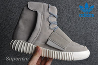Cheap Adidas Yeezy 750 Boost Grey Kanye West Basketball Shoes Sneaker Women Men Yezzys Sports Shoes Classic Yeezys Yzy Running Fashion Boot Box