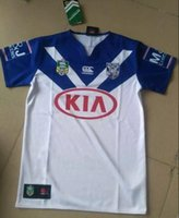Wholesale 2017 BULLDOGS rugby jerseys home Doggies MEN S shirts top quality rugby shirts
