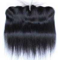 Wholesale Straight Wave Brazilian Hair Ear to Ear Lace Frontal Closure Grade A Length quot to quot