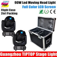 Wholesale Flightcase for Untis W Led Moving Head Spot Light LCD Display High Quality High Brightness W Moving Light