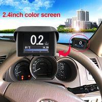 For Audi benz speed - Maozua Z132 Car OBD Smart Digital Meter Alarm Fault Code Water Temperature Gauge Voltage Speed Meter Display in PK A202