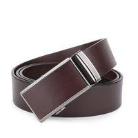 Wholesale 2016 new fashion Belt man head layer cowhide leather belt imported Italian business men s belt leather belts joker