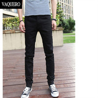 basics jeans - Basic Styles Mens Jeans Stretch Classic Black Denim Mens Pants Casual Fashion Slim Fit Jeans Size