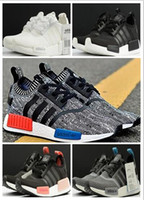 Wholesale 2016NEW Original NMD Originals Runner PK white Men and Women Classic Fur Sneakers Fashion Campus running Shoes boost36