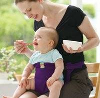 Wholesale baby dining belt portable child seat baby BB dining chair security belt colors