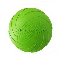 Wholesale New Natural Rubber Frisbee Pet Toy Dog Toys Training Flying Disc Playing Toys