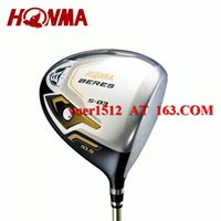 Wholesale 2016 Golf HONMA Beres S Driver Loft With Golf STAR ARMRQ Graphite R S Flex Shaft HONMA Clubs