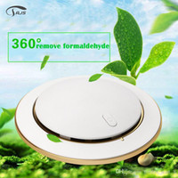 Wholesale Portable Noiseless Car and Home Air Purifier UFO Shape Anion Air Freshener Christmas Gifts Fast Shipping Air cleaner