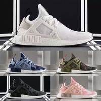 Unisex animal print women shoes - With shoes Box Colours Hot Sale NMD XR1 Men And Women Duck Camo Pack White Grey BA7233 Kids Sport Casual Shoes