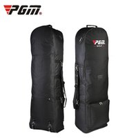 Cart Bags aviation bags - Original PGM Air Golf Bag with Pulley Single layer Consignment Golf Bags Aviation Card Bag On Front Foldable