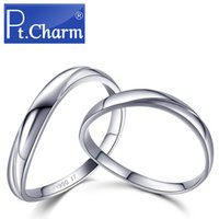 Wholesale Pt Charm platinum platinum Pt950 men and women to buddhist monastic discipline with married couples ring ring perfect love