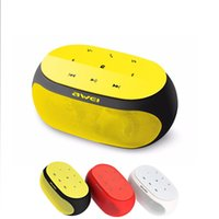 amplified cards - Original Awei Y200 Portable Wireless Mini Bluetooth Speaker Amplified for PC Computer Sound D Stereo Boombox Player Smart Touch Button