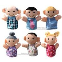 Wholesale 2016 Hot New Families Cute Safe Various Soft Cotton cm or cm Childen Small Toy Puppet