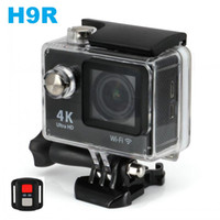Wholesale 4K Wifi Action Camera EKEN H9R With G Wireless Remote Control P fps LCD lens Helmet Cam