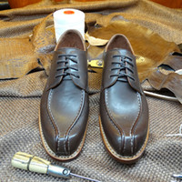 bespoke dress shoes - LA05 Bespoke Luxury Goodyear Handmade Sewing Genuine Leather Best Quality Men s Dress Business Wedding Shoes Oxfords Eur