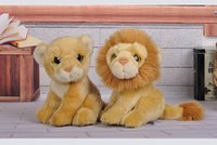 Wholesale best quality simulation lion toy plush with softness and best PP filling cute toy suitable for animal zoos children gifts and present