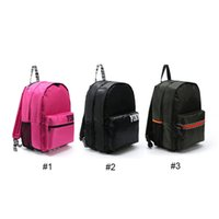 Women army shopping - PINK Women Waterproof Shopping Backpack Tote Zipper Shoulder Versatile Sack Summer Holiday Beach Letter Bag Colors