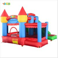 big inflatable slides - Residential Nylon Bouncy Castle Inflatable Slide Combo Bounce House Jumping Sastle Wiith Ball Pit