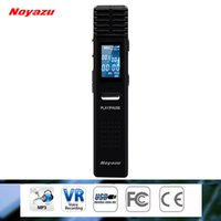 Wholesale Noyazu Original X1 GB G Digital Voice Recorder hrs Long Time Recording MP3 Player Audio Original Professional Dictaphone Gift