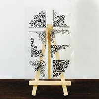 alphabet clear stamps - Alphabet Transparent Silicone Clear Rubber Stamp Sheet Cling Scrapbooking DIY Decoration
