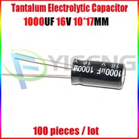 best electrolytic capacitors - Electrolytic capacitors V1000UF V UF Volume X17 Best price and good service