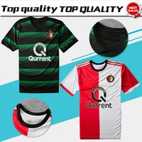 Soccer Men Short Feyenoord home red white Soccer Jersey 17 18 Feyenoord  away Soccer Shirt 2018 0d37b37ac0515
