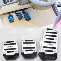 Wholesale Newest Hot Non slip Car Accelerator Brake Foot Pedals Auto Vehicle Footrests Set