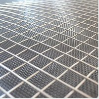Wholesale Plain Weave Wire Low Carbon Steel Iron Wire Stainless Steel Welded Wire Mesh Use for Farm Fence
